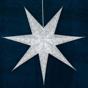 UND Adventstjerne Hvit 100cm