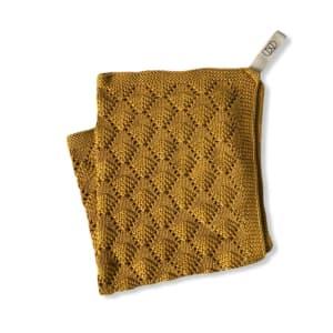 UND Håndkle Hazelnut Mustard
