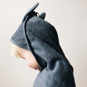 Liewood Augusta Hettehåndkle Kanin Blå