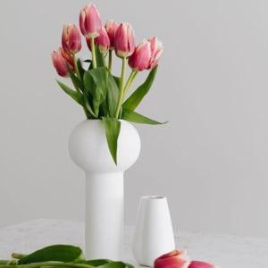 Cooee Pillar Vase 24cm Hvit