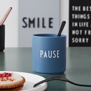 design letters kopp favourite cup pause