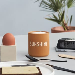 Design Letters Kopp Favourite Cup Sunshine