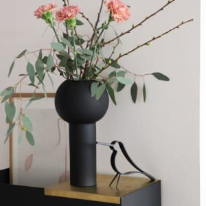 Cooee Pillar Vase 32cm Svart