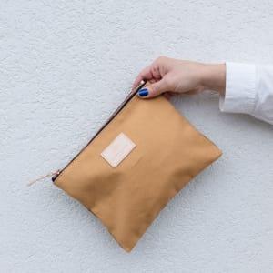 UND Carry On Veske m/glidelås Small Stuff Honning