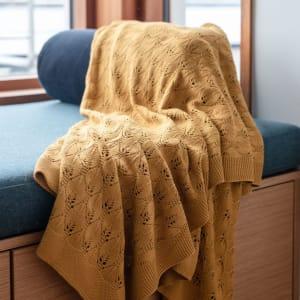 UND Teppe/Duk Selje 110x180 Mustard