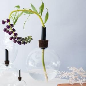 Scandinavia Form Glasilium Vase 30cm Sort