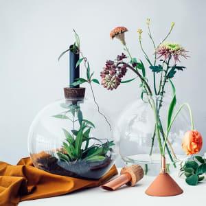 Scandinavia Form Glasilium Vase 56cm Sort