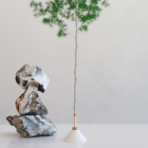 Scandinavian Form Consilium Vase 9,5 cm Snow White