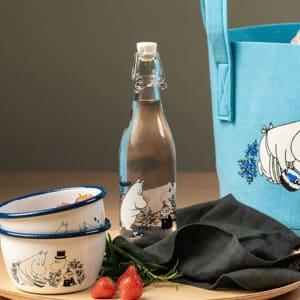 Muurla Glassflaske Mummi Blåbær 0,5l