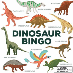 Spill Dinosaur Bingo