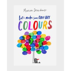 Tegnebok Let's Make Some Great Art: Colors