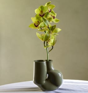 Hay W&S Vase Chubby Olive Green