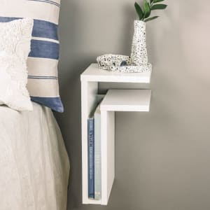 Maze F-Shelf White Right