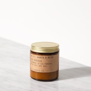 P.F. Candle Co. Duftlys No.11 Amber & Moss mini