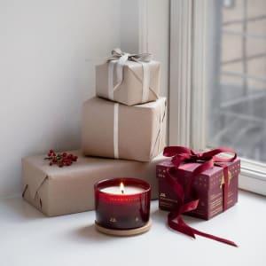Skandinavisk Duftlys Jul 90g i gaveesker