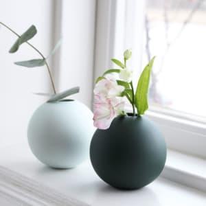 Cooee Ball vase 8 cm grønn