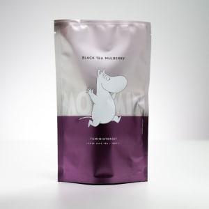 Teministeriet Moomin sort te, 100 g