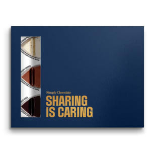 Sharing is caring 12-biter Simply Chocolate