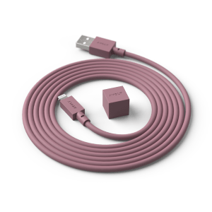 Avolt Ladekabel Cable1 Rusty Red 1,8m