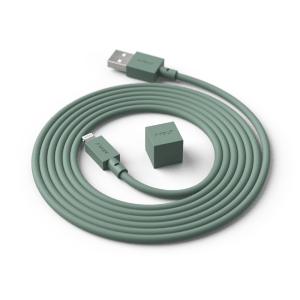 Avolt Ladekabel Cable1 Grønn 1,8m