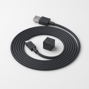 Avolt Ladekabel Cable1 Stockholm Svart 1,8m