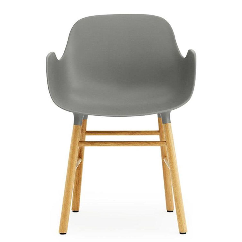 Form stol marmlen gråeik | Ting.no