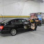 Black Car detailing custom auto