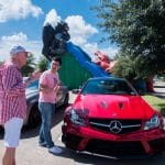 Katy, TX Grand Red Benz