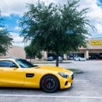 Katy, TX Grand Opening Yellow Benz