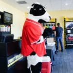 Katy, TX Grand Opening Cow Mascot
