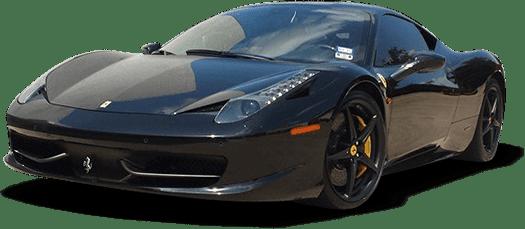 High end sports car video