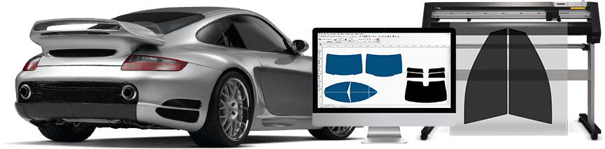 Collage of high end sports car, desktop.