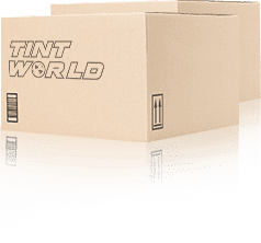 couple boxes with tint world logo