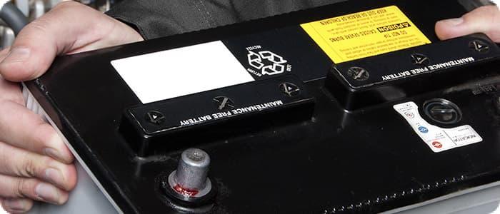 Car batteries service