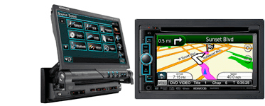 In-Dash Car Stereo of Weston