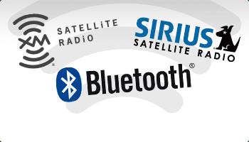 Bluetooth, Satellite Radio, Sirius