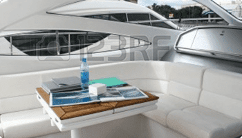Inside of a Yacht