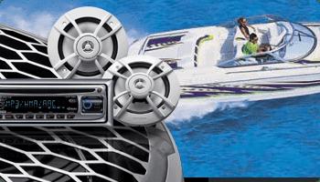 Boat audio system