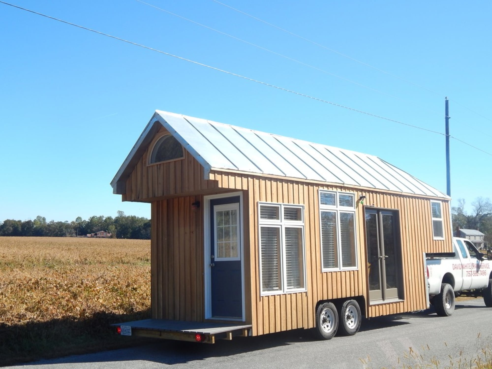 top fifth wheel tiny house with 3 bedrooms