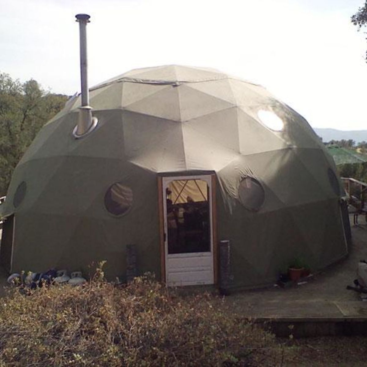 A Quick Collection Of Images Of Geodesic Domes: Tiny House For Sale In North Fork