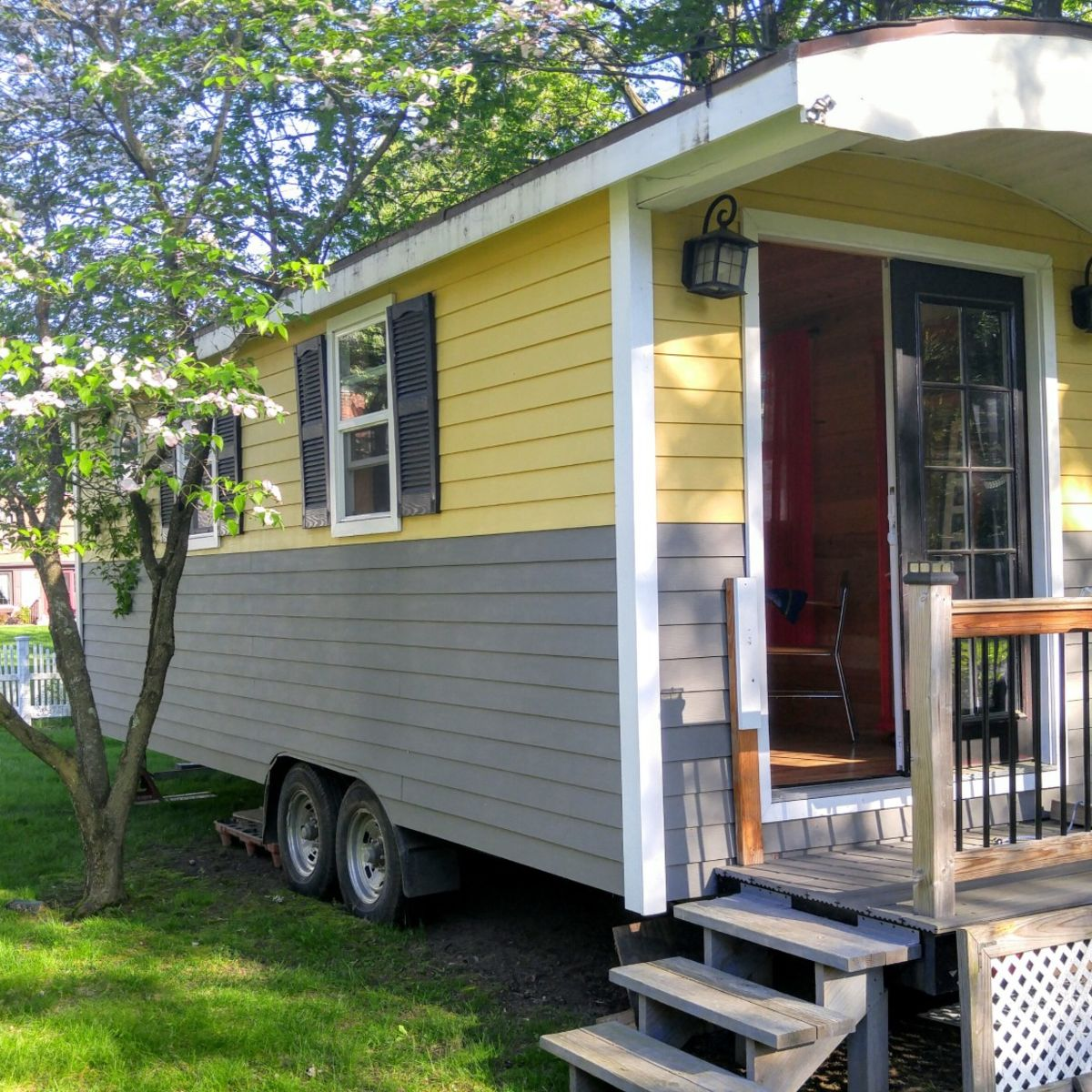 Freedom House Tiny House For Sale In Agawam Massachusetts