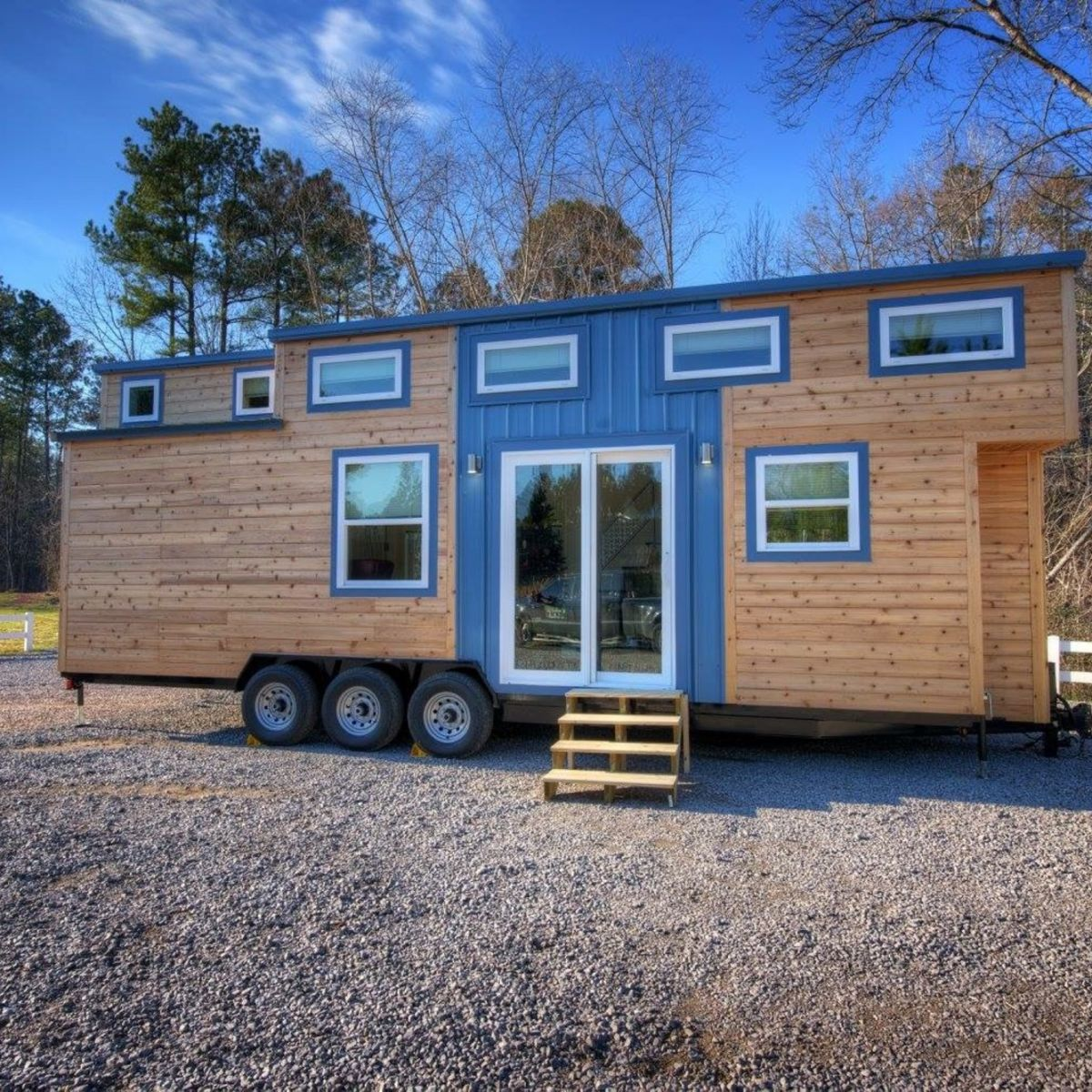 Freedom v2 shell tiny house shell for sale in warrior for 2 level tiny house