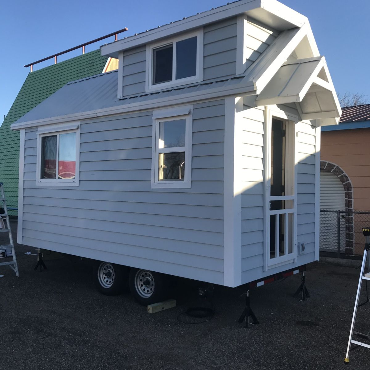23x23 Tiny Home on wheels built oct 23 - Tiny House for Sale in Dallas,  Texas - Tiny House Listings