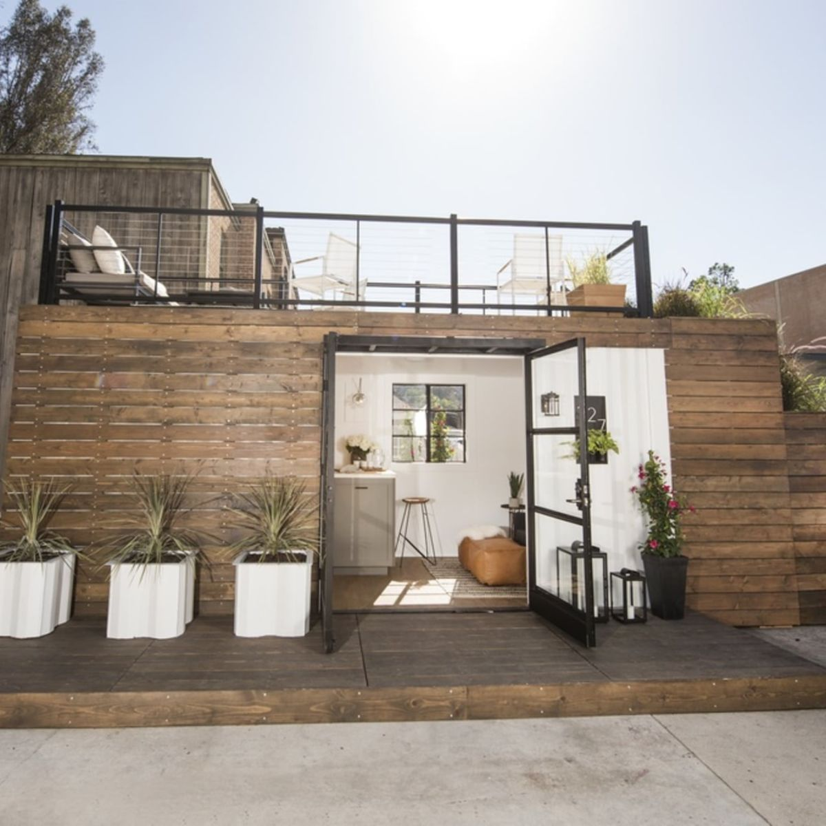 Long Beach Beach Houses: Shipping Container Tiny House