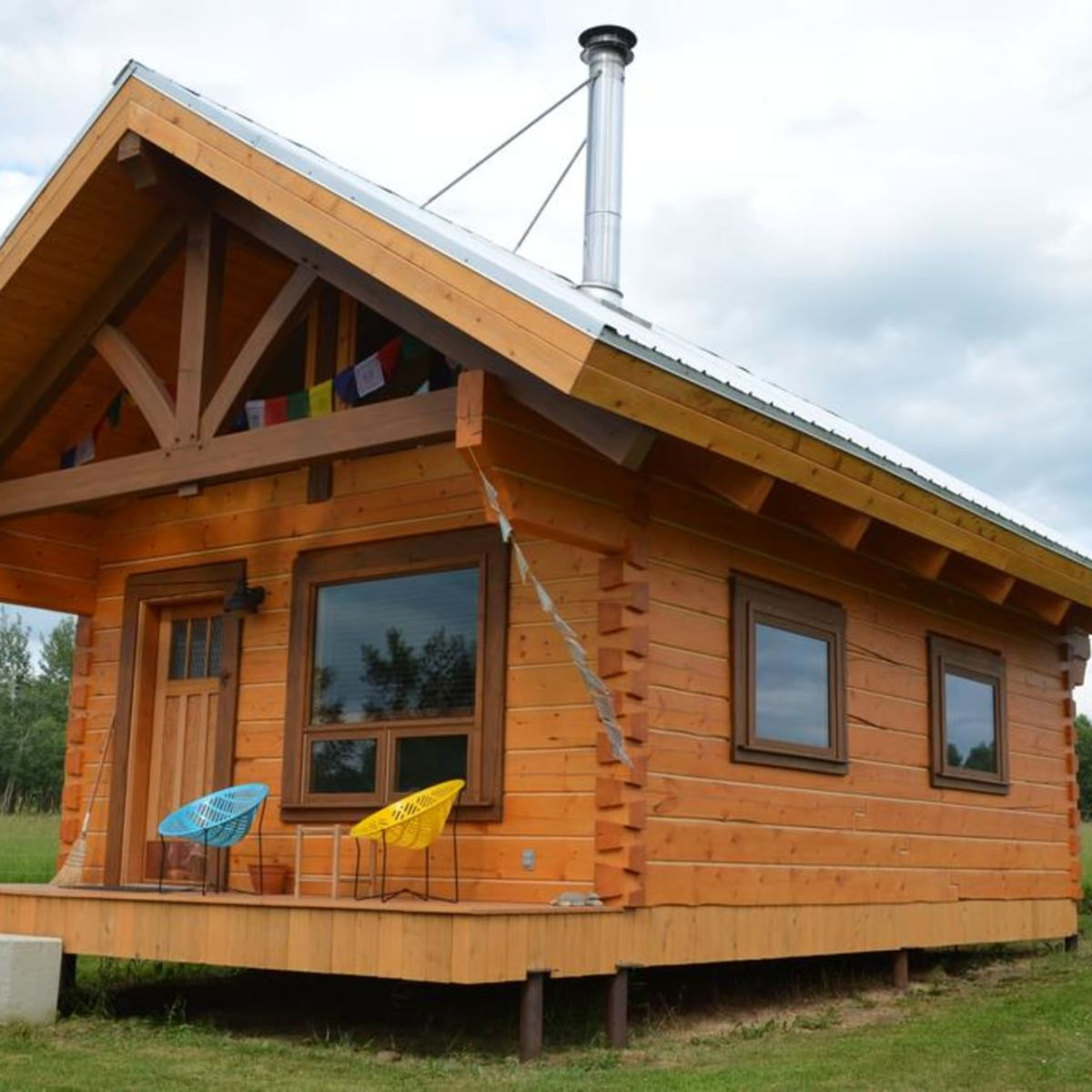 Adorable Log Cabin To Be Moved