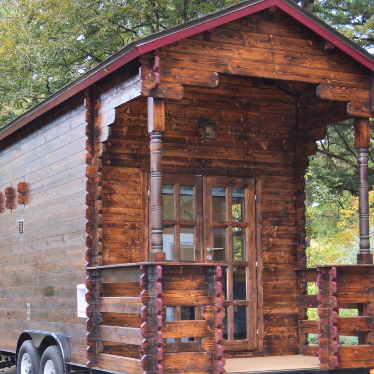 Off Grid 20 Lofted Thow Tiny House For Sale In Anderson