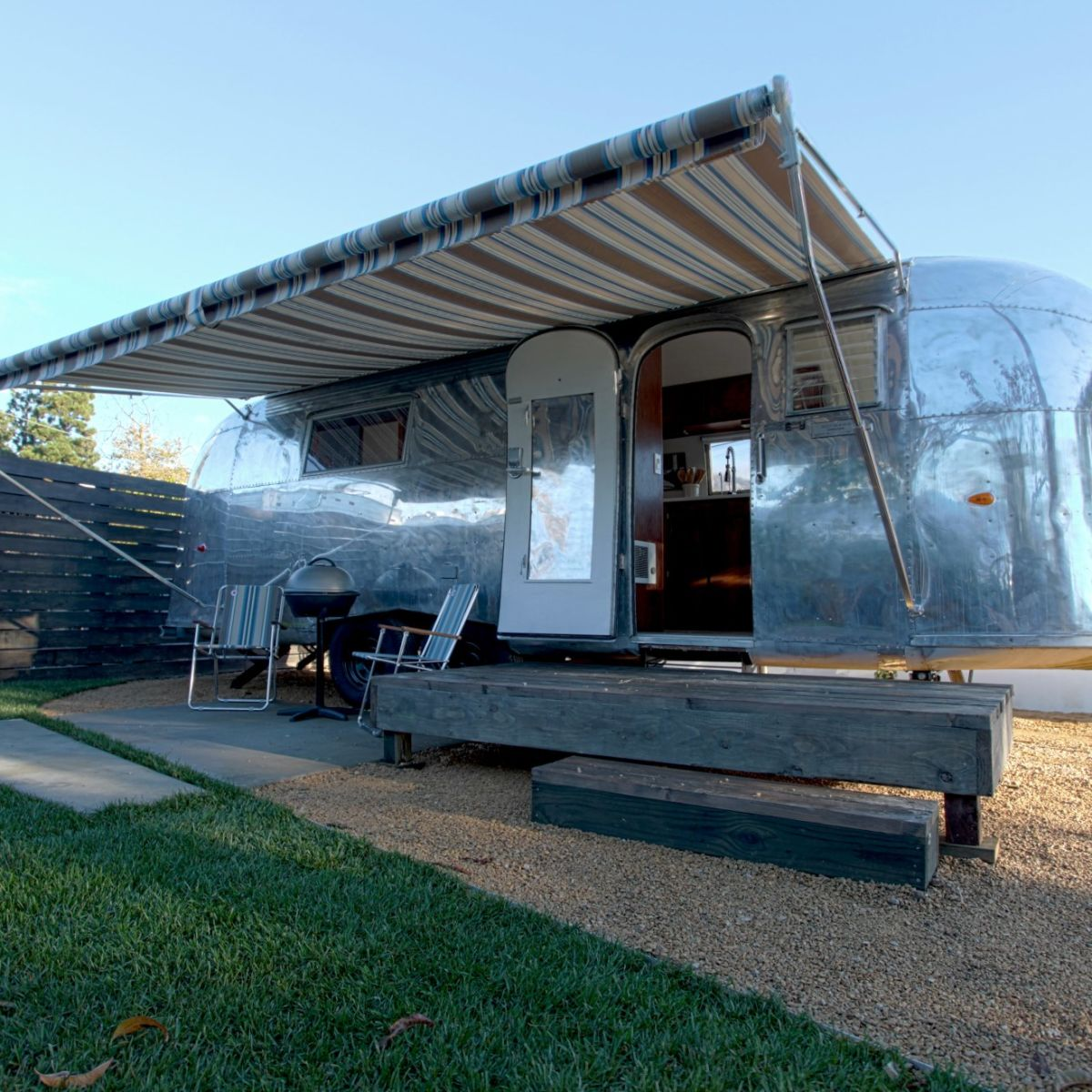 vintage airstream tiny house rv for sale in santa barbara california tiny house listings. Black Bedroom Furniture Sets. Home Design Ideas
