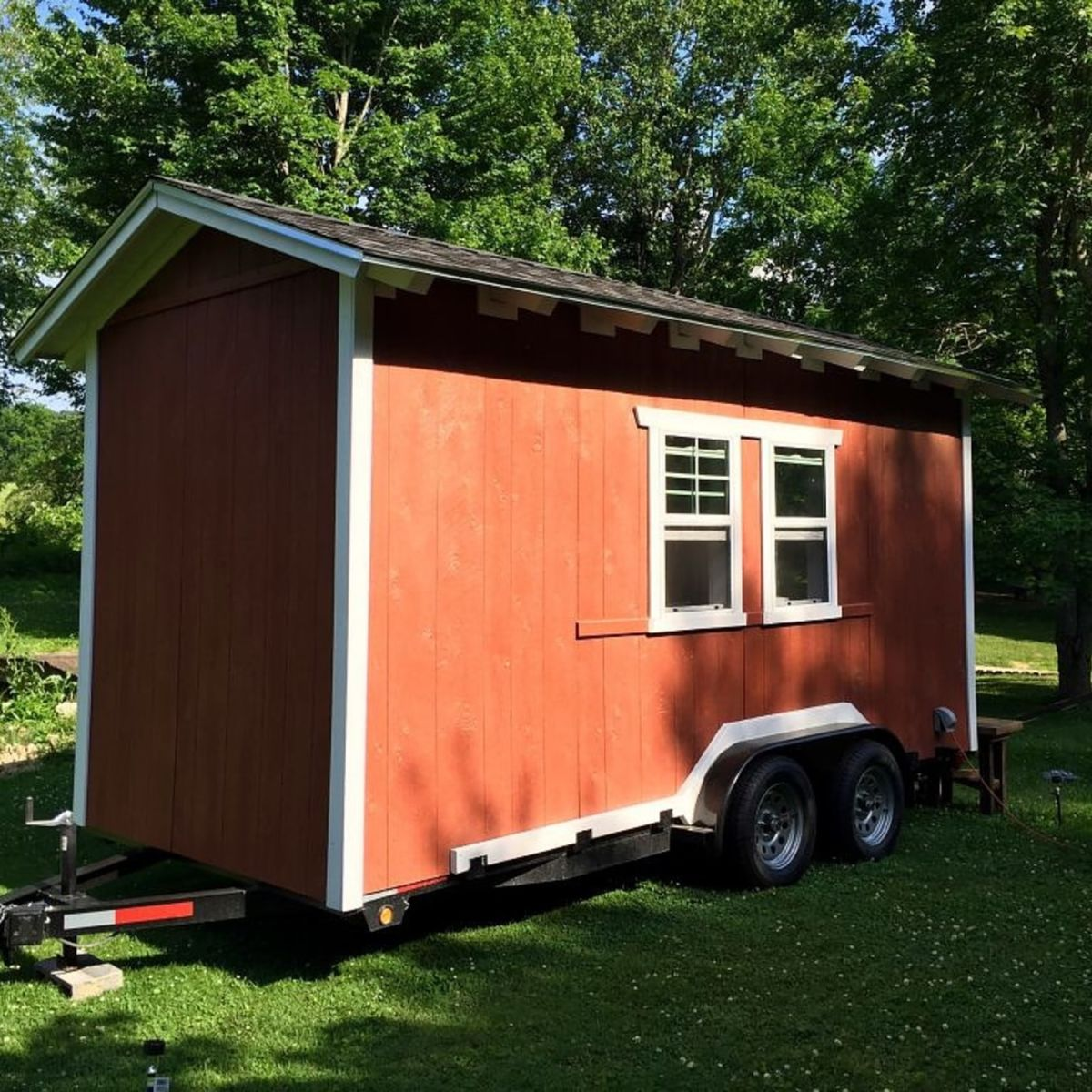 Rustic Tiny House on Wheels - Tiny House for Sale in Cookeville, Tennessee  - Tiny House Listings