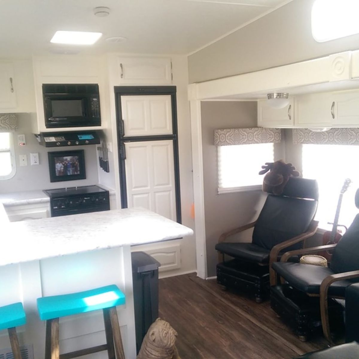 Fifth Wheel Converted To Tiny House
