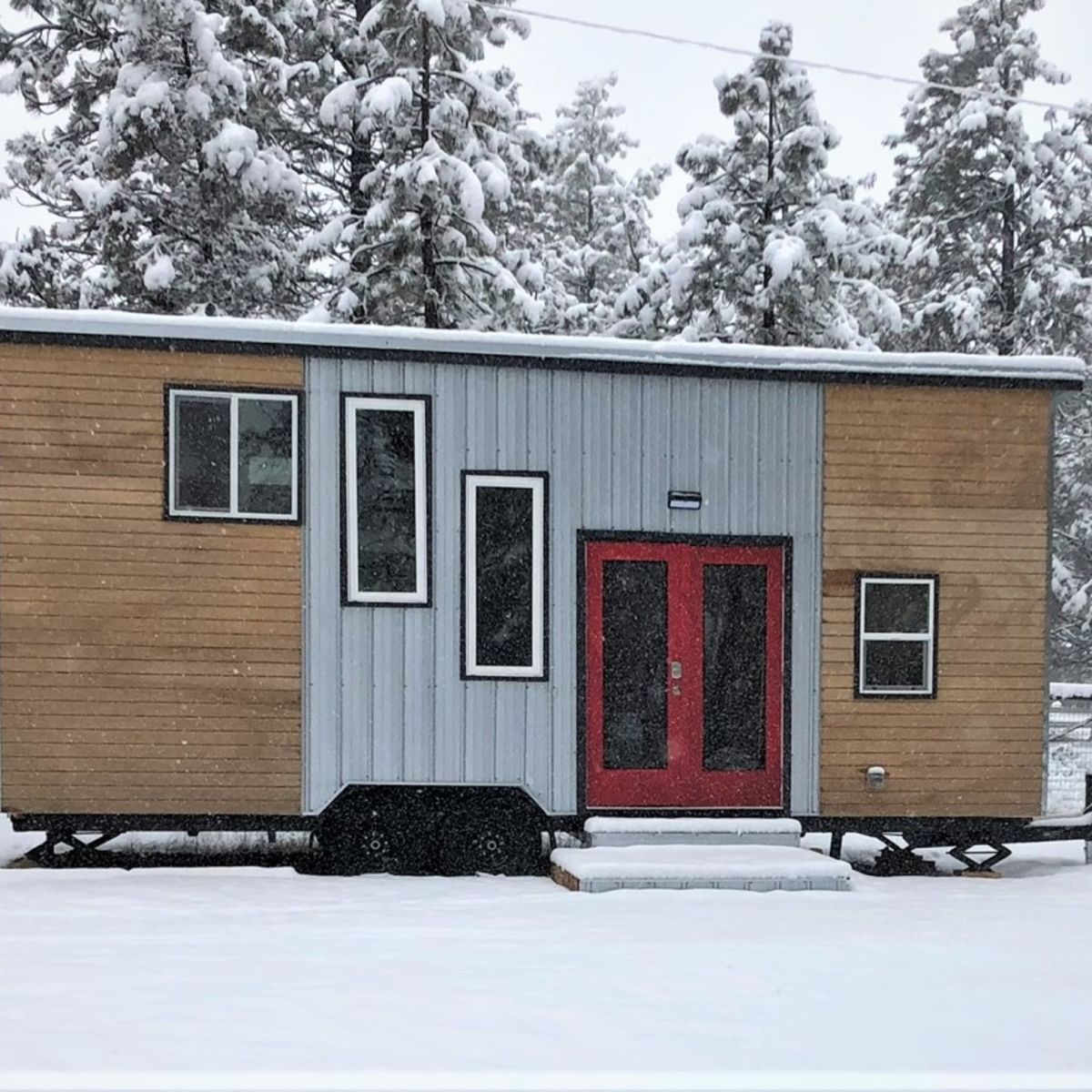 New Construction ~ 26' Milagro Tiny Home ~ FOR SALE - Tiny House for Rent  in Sisters , Oregon - Tiny House Listings